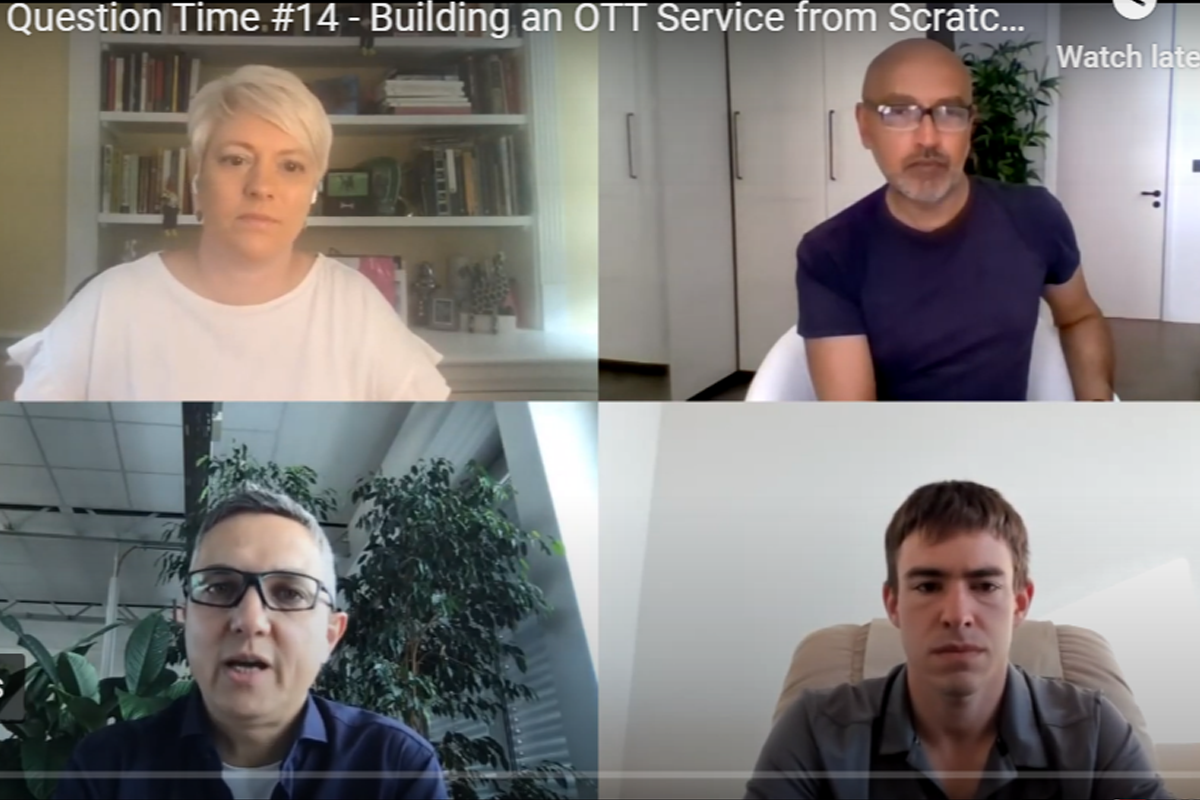 OTT Question Time #14 – Building an OTT Service from Scratch (Part 1)