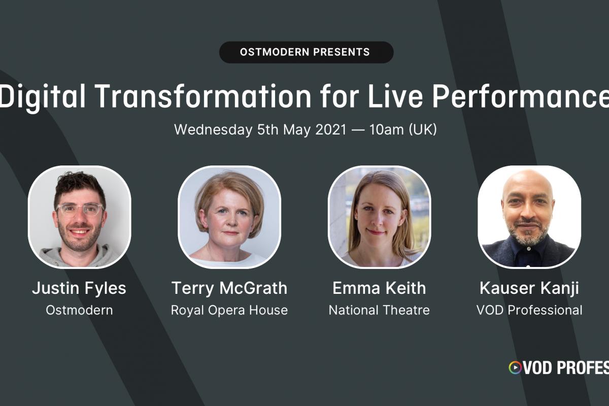 Digital Transformation for Live Performance
