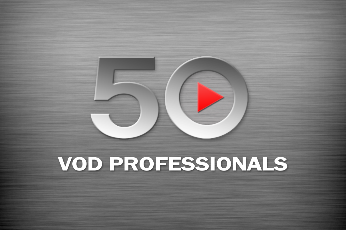50 VOD Professionals 2021 — The Results