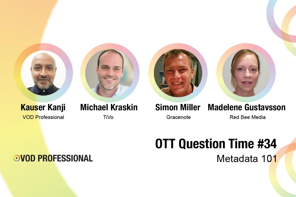OTT Question Time #34 – Metadata 101